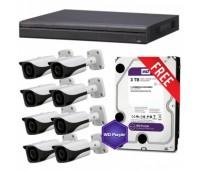 Комплект IP видеонаблюдения Linovision IP-8OUT PRO