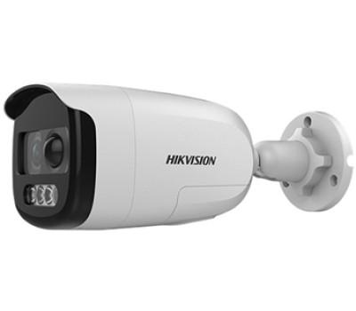 DS-2CE12DFT-PIRXOF (2.8 мм) 2Мп ColorVu Turbo HD видеокамера Hikvision с PIR датчиком и сиреной